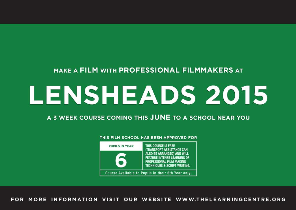 LensHeads 2015 poster