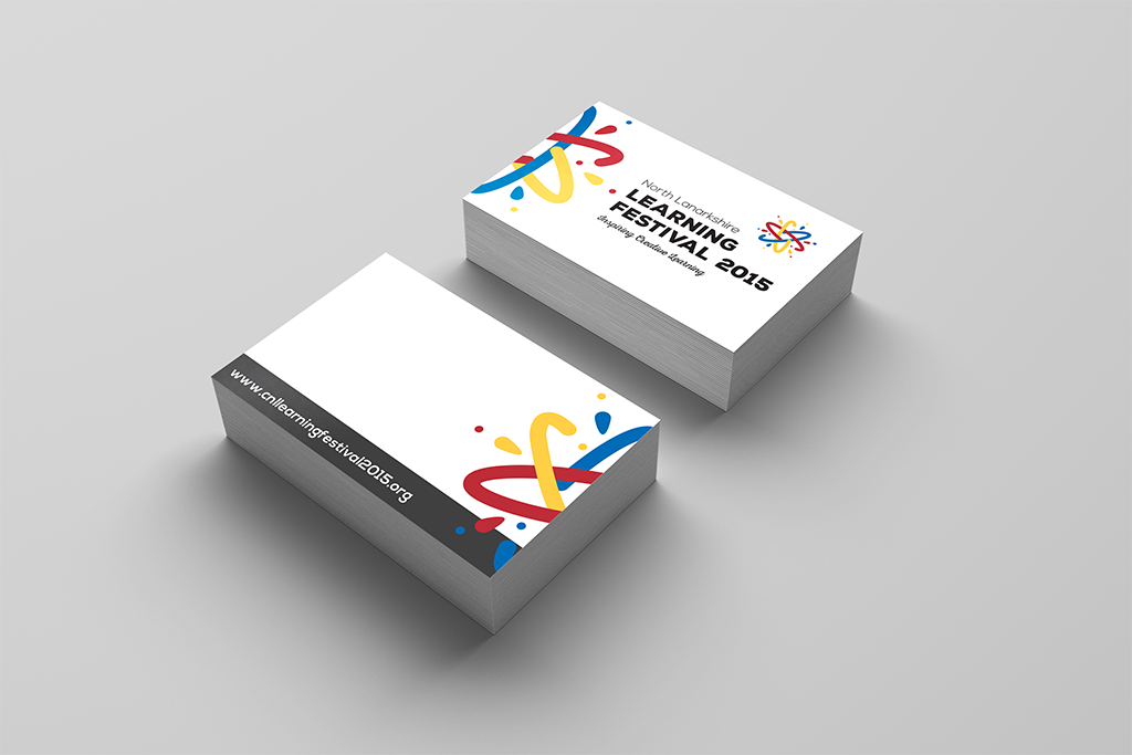 Learning_festival_branding_logo_business cards